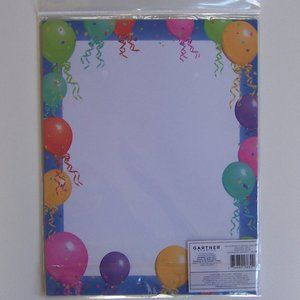 GARTNER STUDIOS Party Balloons Paper (25 sheets)